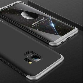 Husa Shield 360 GKK pentru Samsung Galaxy S9 Plus Black&Silver