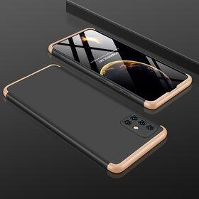 Husa Shield 360 GKK pentru Samsung S20 Plus Black&Gold