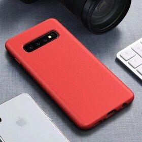 Husa Silicon Eco pentru Galaxy S10 Plus Red