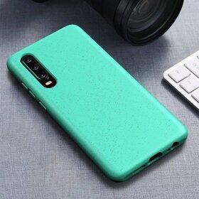 Husa Silicon Eco pentru Huawei P30 Lite Green Mint