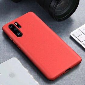 Husa Silicon Eco pentru Huawei P30 Pro Red