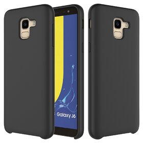 Husa Silicon Premium pentru Galaxy J6 Plus (2018) Black
