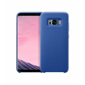 Husa Silicon Premium pentru Galaxy J7 (2017) Blue