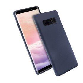 Husa Silicon Premium pentru Galaxy Note 8 Blue