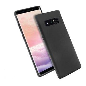 Husa Silicon Premium pentru Galaxy Note 8 Black
