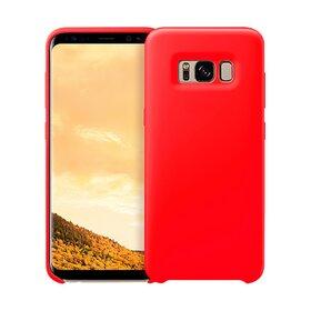 Husa Silicon Premium pentru Galaxy S8 Plus Red