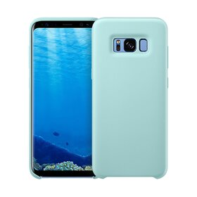 Husa Silicon Premium pentru Galaxy S8 Plus Baby Blue