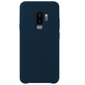 Husa Silicon Premium pentru Galaxy S9 Plus Blue