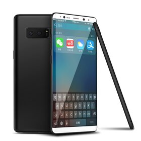 Husa Slim pentru Galaxy Note 8 Black