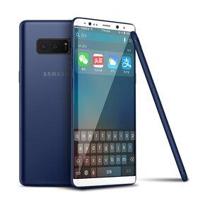 Husa Slim pentru Galaxy Note 8 Blue