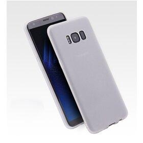 Husa Slim pentru Galaxy S8 White