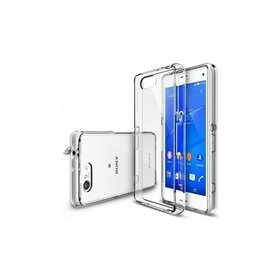 Husa Sony Xperia Z3 Compact Ringke FUSION CRYSTAL VIEW TRANSPARENT+BONUS folie protectie display Ringke