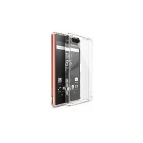 Husa Sony Xperia Z5 Compact Ringke FUSION CRYSTAL VIEW TRANSPARENT + BONUS folie protectie display