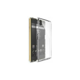 Husa Sony Xperia Z5 Ringke FUSION CRYSTAL VIEW TRANSPARENT + BONUS folie protectie display