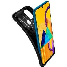 Husa Spigen Liquid Air pentru Samsung Galaxy M21 / M30s Black