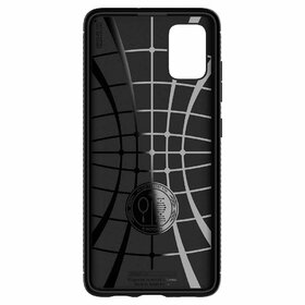 Husa Spigen Rugged Armor pentru Samsung Galaxy A71 Black