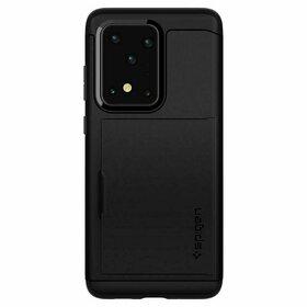Husa Spigen Slim Armor Cs pentru Samsung Galaxy S20 Ultra Black