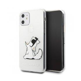 Husa transparenta Karl Lagerfeld (Choupette Fun) pentru iPhone 11