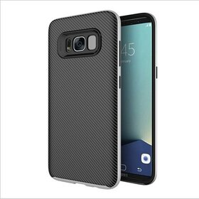 Husa uCase Neo pentru Galaxy S8 Plus Silver