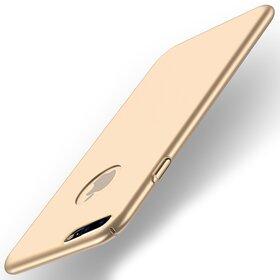Husa ultra-thin matte pentru iPhone 7+ Gold