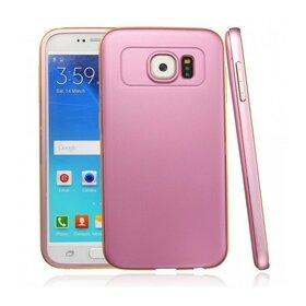 Husa Varnish Design pentru Galaxy S6 Edge Pink