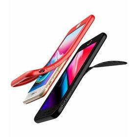 Husa Voero 360 nedecupata din silicon cauciucat pentru iPhone 6/6s