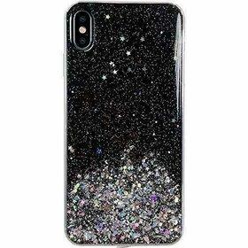 Husa Wozinsky Star Glitter pentru Samsung Galaxy A31 Black
