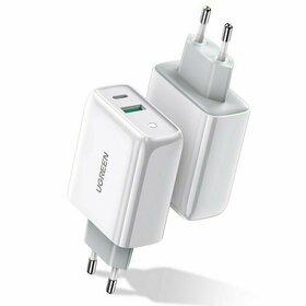 Incarcator Ugreen Fast Charger QC 4.0 USB-C / USB 36W