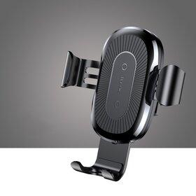 Incarcator wireless auto Baseus pentru Samsung si iPhone Black