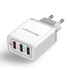 Incarcator Wozinsky Fast Charge QC 3.0 3x USB 30W