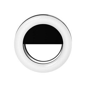 Lampa tip inel cu ultra leduri de iluminare de mici dimensiuni Black