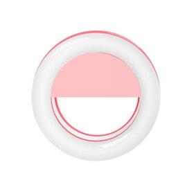Lampa tip inel cu ultra leduri de iluminare de mici dimensiuni Pink