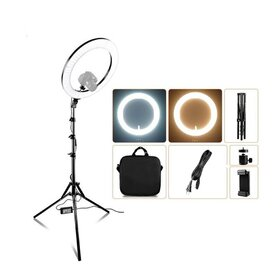 Lampa tip inel de iluminare studio cu 512 leduri de iluminare