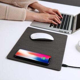Mouse pad cu incarcator wireless de 10W