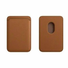 Portofel Magnetic MagSafe pentru seria iPhone 12 Brown