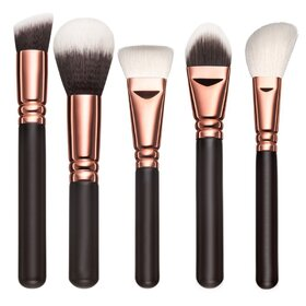 Set pensule make-up Brown Gold