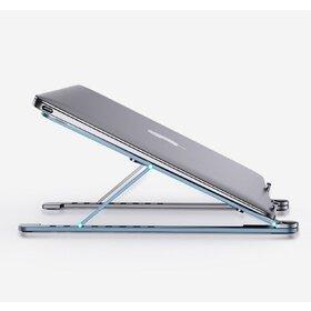 """Stand portabil pentru Laptop si Tableta 14""""-17.3"""" Silver"""