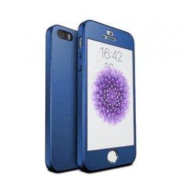 Husa 360 pentru iPhone 5/5s/SE Navy