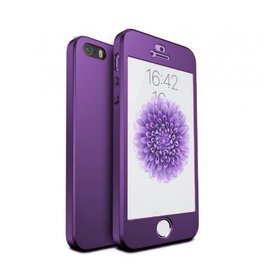 Husa 360 pentru iPhone 5/5s/SE Purple