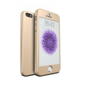 Husa 360 pentru iPhone 5/5s/SE Gold