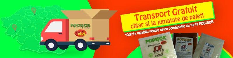 Transport PODISOR 500 kg