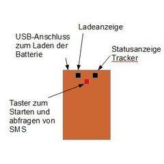 BeeWatch Tracker Antifurt