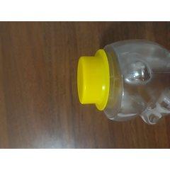 Borcan miere plastic urs 1kg