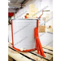 Centrifuga apicola combinata 12 rame radial sau 4 rame tangential manuala canea plastic Stuparul.Ro