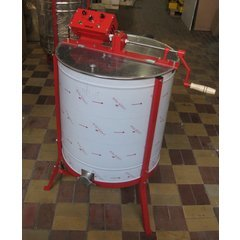 Centrifuga apicola inox tangentiala 4 rame electrica 220V/12V si manuala Mineli