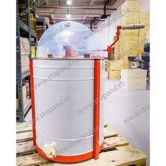Centrifuga apicola MER combinata 9 rame radial sau 3 rame tangential, manuala canea plastic Stuparul.Ro