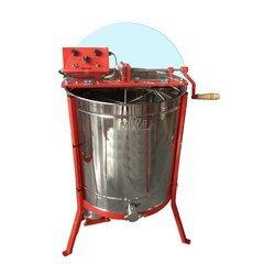 Centrifuga apicola combinata 12 rame 1/2 radial si 4 rame cuib tangential, electrica 220V/12V si manuala Mineli
