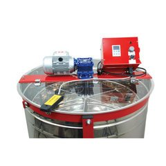 Centrifuga apicola radiala inox 30 / 24 / 6 rame electrica 220V actionare superioara semiautomata Lyson