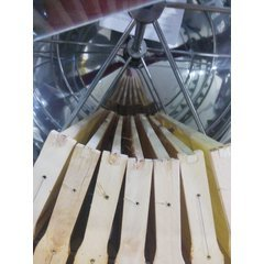 Centrifuga apicola radiala inox 42 / 42 / 18 rame electrica 220V actionare superioara semiautomata Lyson