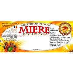 Etichete miere poliflora 100 buc